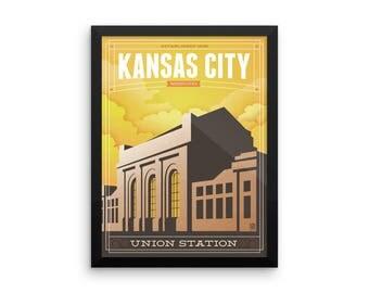 Union Station Framed Print