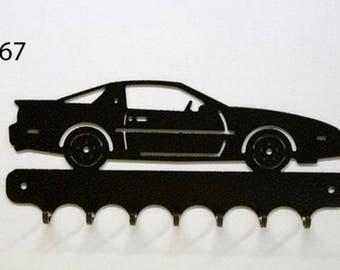 Hangs 26 cm pattern metal keys: Pontiac TRANS AM 89