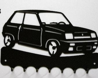 Hangs 26 cm pattern metal keys: R5 Alpine Renault