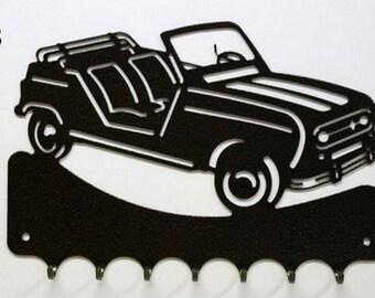 Hangs 26 cm pattern metal keys: 4L Renault outdoor