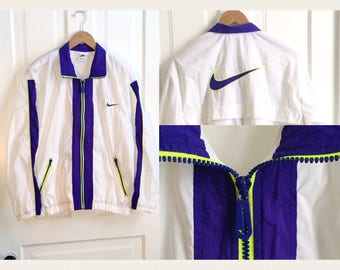 Vintage Nike Windbreaker Women's Medium