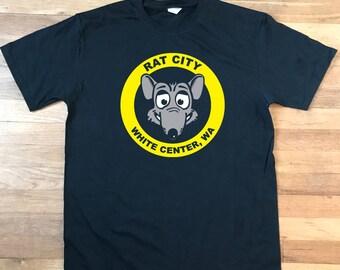 "White Center Washington ""Rat City"" t-shirt"