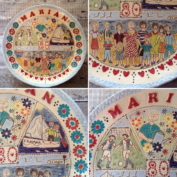 Handmade Personalised Ceramic Bowls