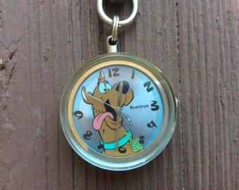 A Cute! Scooby Doo Key Chain Watch, Armitron/Hanna Barbery.