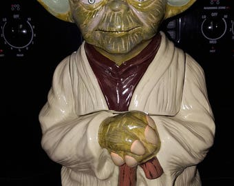 Star Wars Yoda Cookie Jar