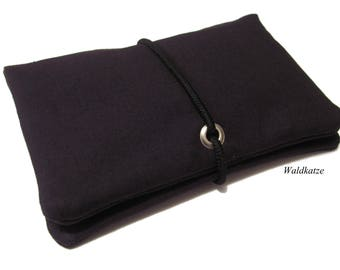 Tobacco bag / pouch / Leno bag * black *.