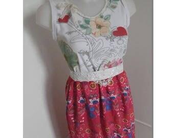Cotton Hula and Islands viscose dress