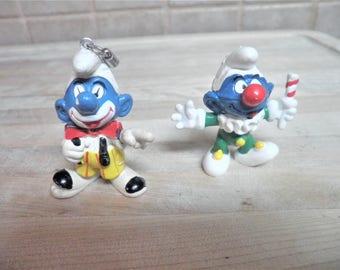 Vintage Schleich 1977-1978 Smurfs toys