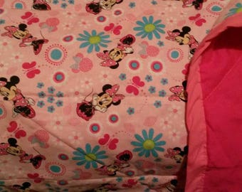 Minnie Mouse Baby Quilt