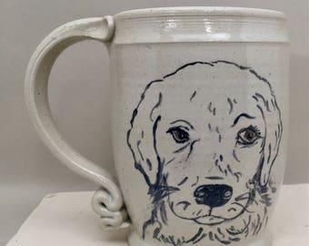 Lil pup mug