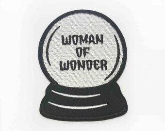 Woman Of Wonder Crystal Ball Patch
