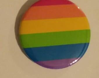 LGBT Rainbow flag 2.25 button