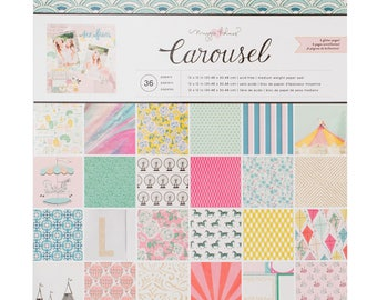 Maggie holmes carousel 12x12 paper pad