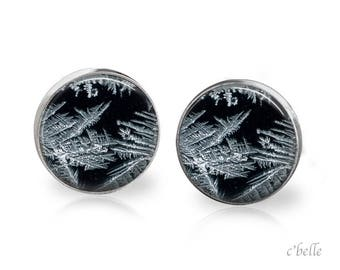 Stud Earrings Frosted 27
