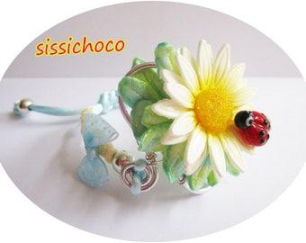 """Flower Daisy bracelet """"Asteraceae"""" (creator)"""