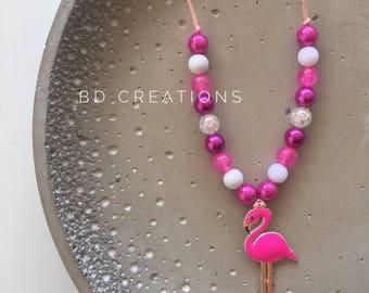 Kids Flamingo Necklace