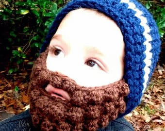 "10% OFF with code ""THANKYOU15"" Baby beard beanie (Baby beard hat) Customizable colors!"