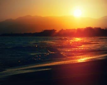 Sunset: Central California Coast