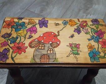 Childrens fairy stool
