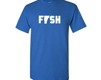 Fish Vermont Shirt, Fishing Shirt, Vermont Shirt, gifts for fisherman, Vermont Gifts, fishing gifts