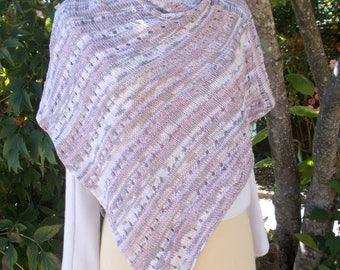 Shawl in 100% cotton