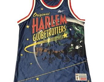 Vintage Harlem Globetrotters Authentic Collection Jersey