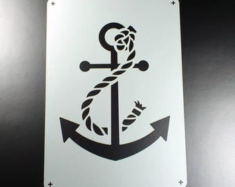 Stencil anchor with rope Maritim Anchor-BE55