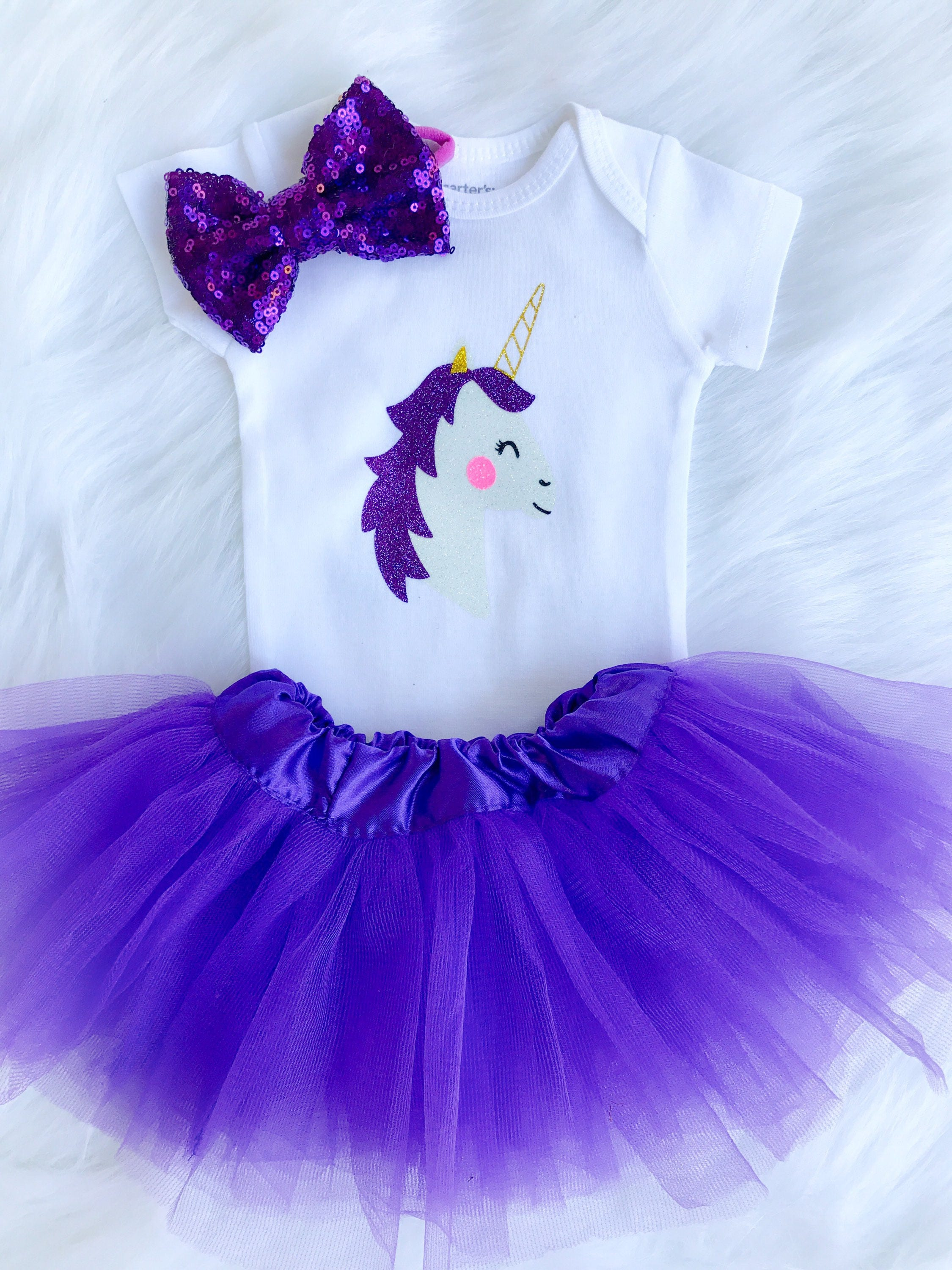 Unicorn Outfit Baby girl clothing take me home outfit