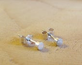Sterling silver tiny roun...