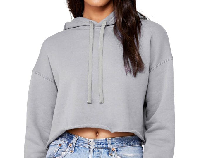 Wholesale Only - Cropped Long Sleeve Hoddie