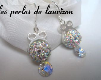 Earrings Crystal splendor thousand reflections
