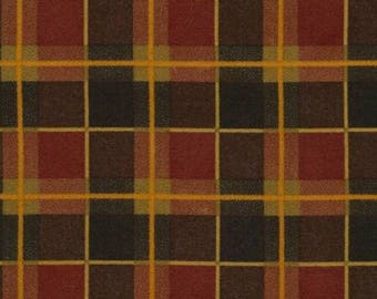 Tailor Multi Plaid Flannel from Timeless Treasures by the yard