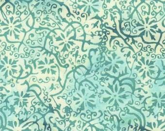 I Sea Sports Teal Geo Batik 3319 from Batik Textiles by the yard