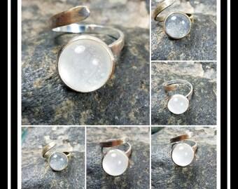 Simulated Breast Milk Stone Ring/Mothers Ring/Baby Memory Keep Sake Ring