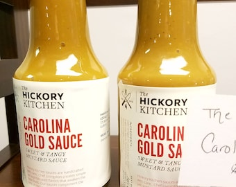 Carolina Gold Sauce - sweet and tangy mustard sauce, great on bbq or on a sandwich