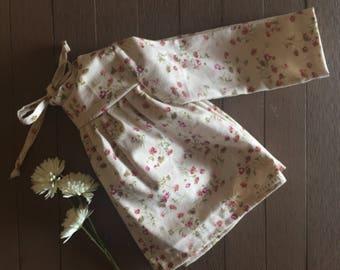 Daisy linen Field blouse / linen top / floral top