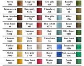 Cotton Color Card-Maurice Brassard