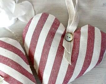 Lavender Filled Hanging Hearts