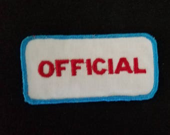 Vintage 60-70s OFFICIAL racing Gearhead Hot Rod Rockabilly Collector Patch