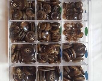 European horn button 18L, 24L, 32L, 36L, 44L, 48L