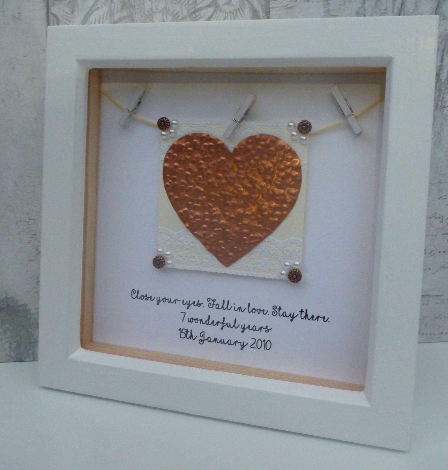 22nd Wedding Anniversary Gift Ideas: Copper Anniversary Gift, 7th Wedding Anniversary Present