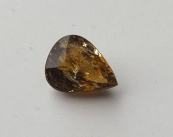 Natural Pear Tourmaline Gemstone