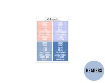 HEADERS   Bunny Kisses   Planner Stickers    Add on   Matte