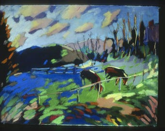 """NEW: """"Horses, Norwich, Vermont"""", 10 x 14"""" a limited edition of ten prints, signed and numbered."""