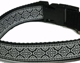 Dog Collar, Metallic