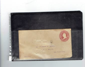 1907-16 very old unused envelope 2 cent.