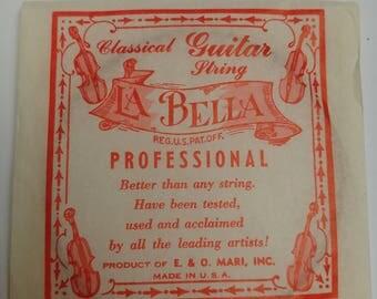 Vintage Classical guitar strings La Bella