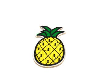 Coat pineapple sticker
