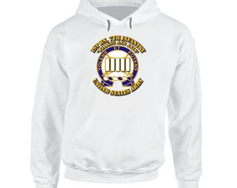 Army - 1st Bn, 7th Infantry - Willing And Able Hoodie