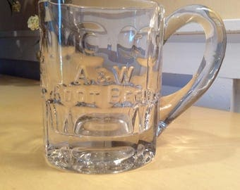 Vintage Rare A&W Root Beer Mug Collectible